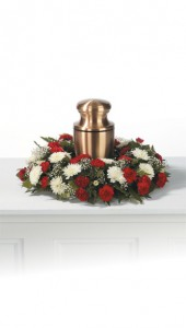 Candle or Urn Memorial Wreath
