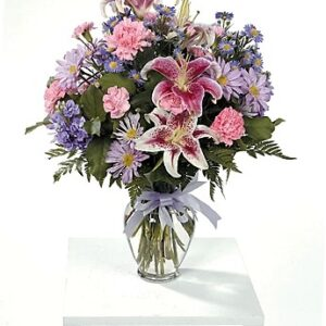stargazer flower arrangement