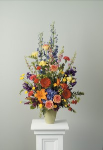 Celabration Vase of Flowers