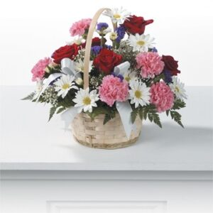 Celebration Flower basket
