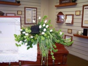 Personalized Casket Spray